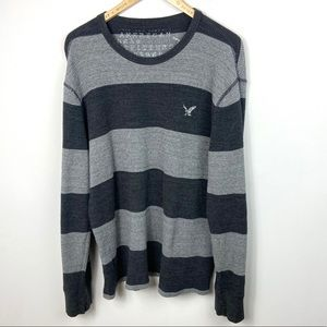 American Eagle Mens XXL Long Sleeve Cotton Sweater